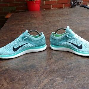Nike Shoes - NIKE FREE RUN FLYKNIT 4.0 SHOES SZ 11